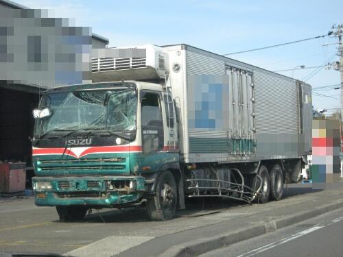 被災トラック | MC47WEBサービス